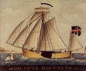 "Illustration of the Ship ""The Good Hope"""
