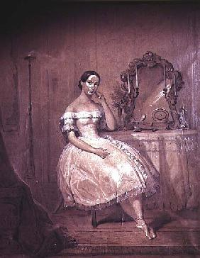 Ballerina in 19th Century Ballet