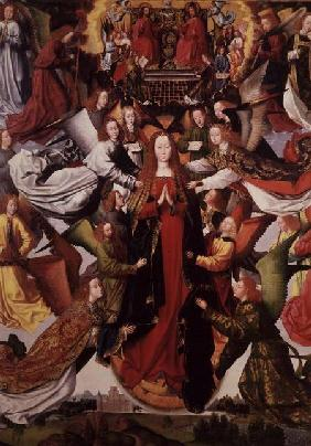 Mary - Queen of Heaven by Master of the St. Lucy Legend