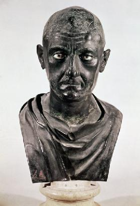 Bust of the Roman general Publius Cornelius Scipio 'Africanus' (237-183 BC)