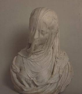 Puritas (bust of a veiled woman)