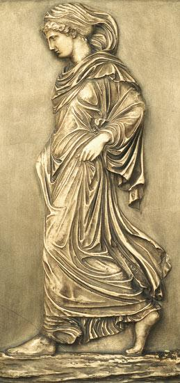 Plaster cast of the `Gradiva'