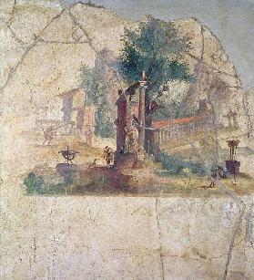 Sacro-idyllic Landscapefrom the Villa of Agrippa at Boscoreale