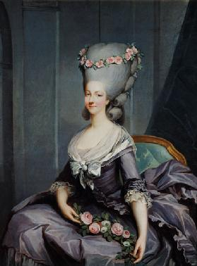 Marie-Therese de Savoie-Carignan (1749-92) Princess of Lamballe