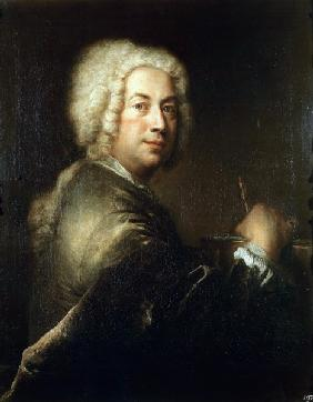Antoine Pesne , Self-portrait