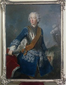 The Crown Prince Frederick II, c.1736
