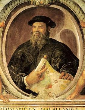 Ferdinand Magellan (c.1480-1521) from the 'Sala del Mappamondo' (Hall of the World Maps)