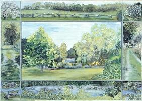 Luke Ariel  - The Lake, Glyndebourne, 1997 (tempera)