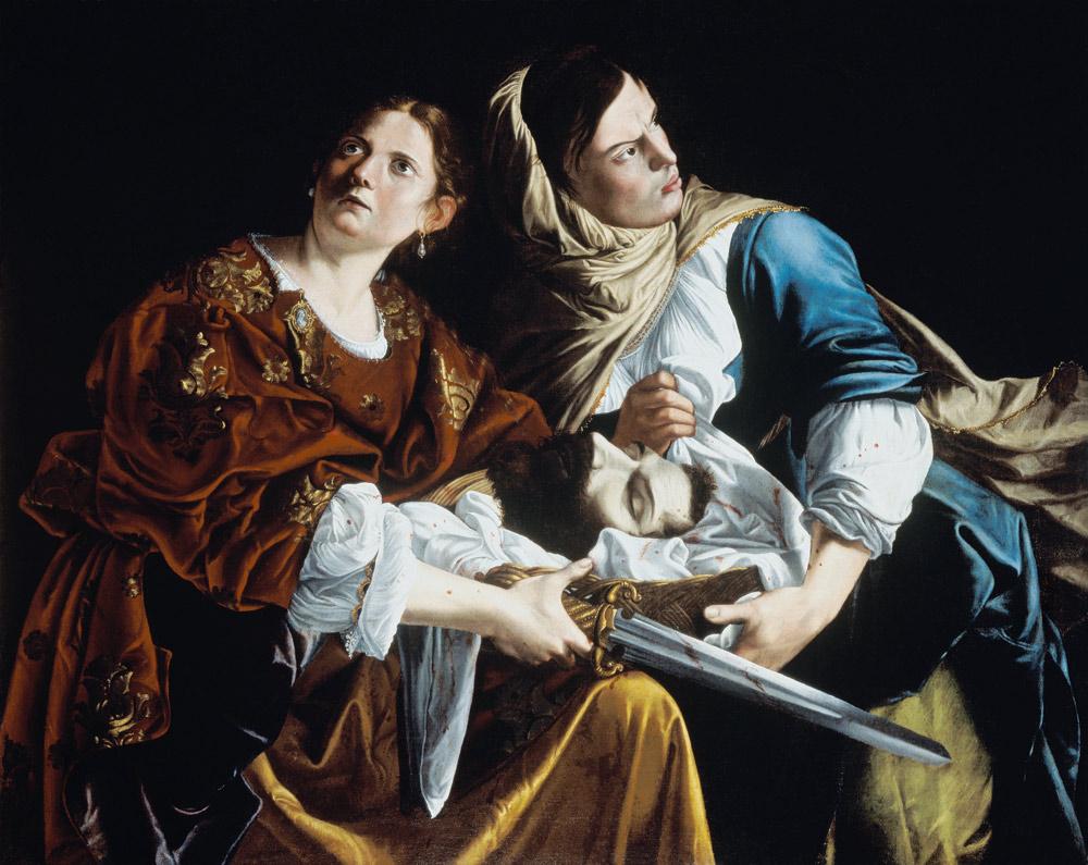 Judith with the head of the Holofernes. - Artemisia Gentileschi en ...