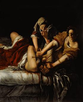 Judith beheads Holoferns