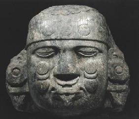 Head of Coyolxauhqui, from the Templo Mayor