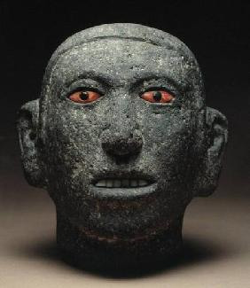 Head of a Youth, found at Tenochtitlan