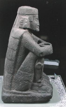 Standard-bearer, found at the Templo Mayor