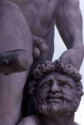 Detail from the Statue of Hercules and Cacus
