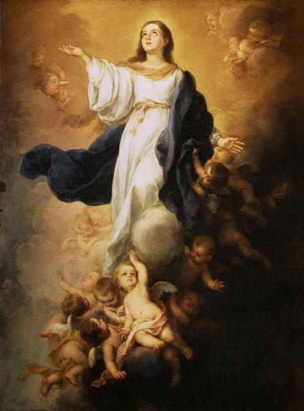 Bartolomé Esteban Perez Murillo - La Asunción de la Virgen