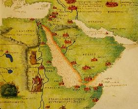 Ethiopia, the Red Sea and Saudi Arabia, from an Atlas of the World in 33 Maps, Venice, 1st September