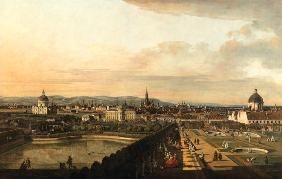 View of Vienna from Belvedere