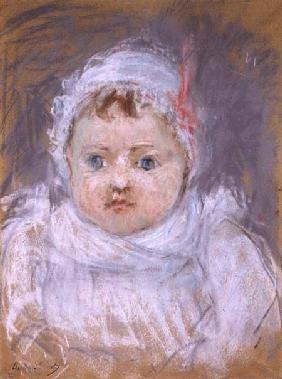 Blanche Pontillon as a Baby