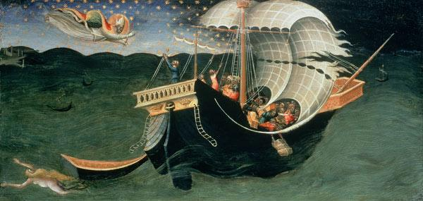 St. Nicholas rebuking the Tempest