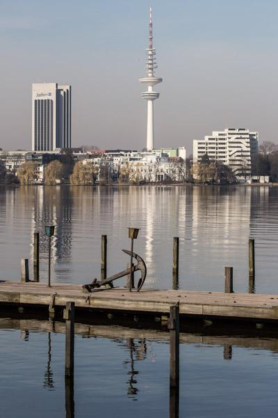 Alster am Morgen (Hamburg)