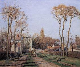 Pissarro, Camille : Entrance to the Village of...