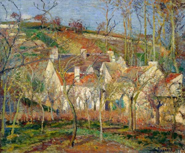 Pissarro, Camille : The red roofs
