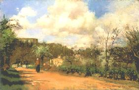 Spring in Louveciennes 1870