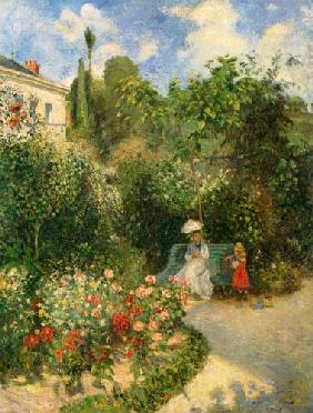 The garden in Pontoise