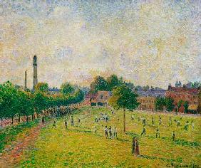 Pissarro, Camille : Kew Green, Londres