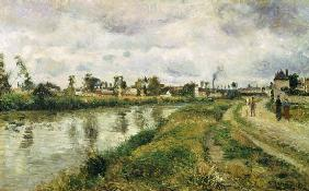 Pissarro, Camille : Riverside at Argenteuil