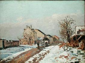 Pissarro, Camille : The Road from Gisors to Po...