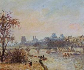 Pissarro, Camille : The Seine and the Louvre