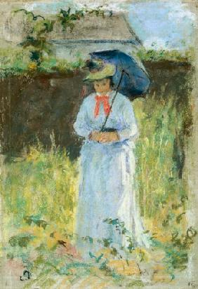 Pissarro, Camille : Woman with a Parasol