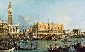 The doge palace with the Piazzetta