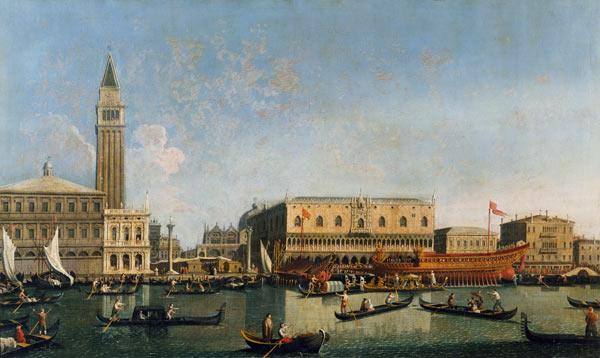 Venice / Doge s Palace / Painting / C18