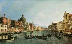 Grand Canal: looking South west from The Chiesa de