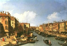 Grand Canal: looking South west from The Rialto br