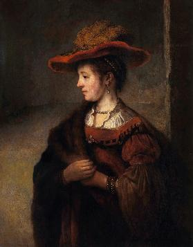 Portrait of Saskia van Uylenburgh (after Rembrandt)