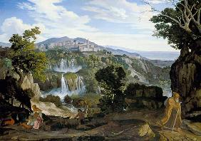 The waterfalls of Tivoli.