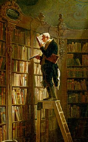 The bookworm (detail)