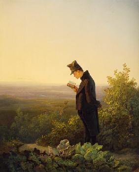 Reading the Breviary, The Evening
