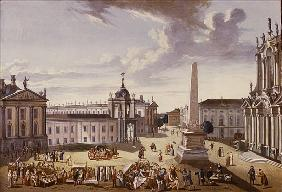 View of the Town Hall, 1772 (see also 330437)