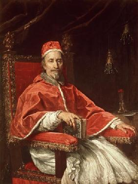 Portrait of Pope Clement IX (1600-69)
