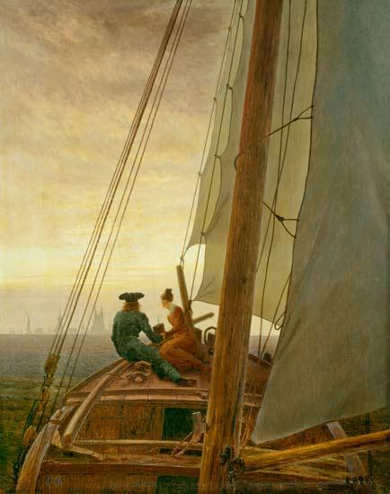 Reproducción impresa de  En el velero