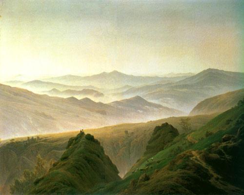 Reproducción impresa de  ÑMañana en las montañas