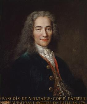 Portrait of Voltaire