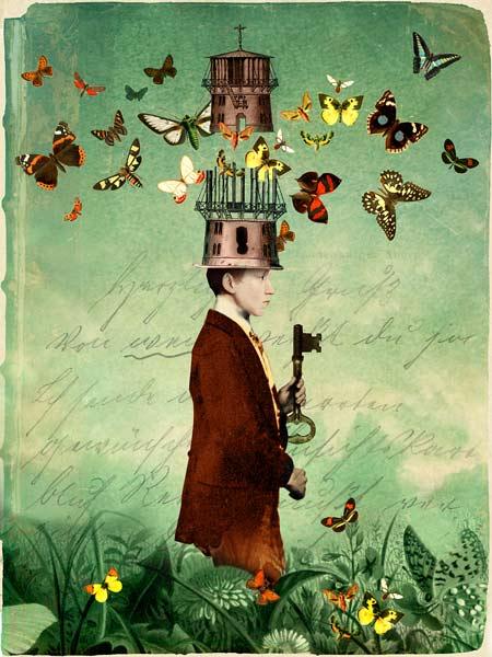 Free Your Mind - Catrin Welz-Stein en reproducción impresa o copia al óleo  sobre lienzo.
