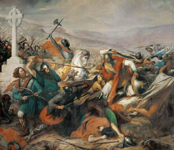 The Battle of Poitiers, 25th October 732