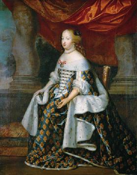 Portrait of Marie-Therese (1638-83) of Austria