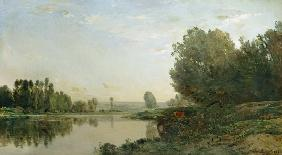 The Banks of the Oise, Morning